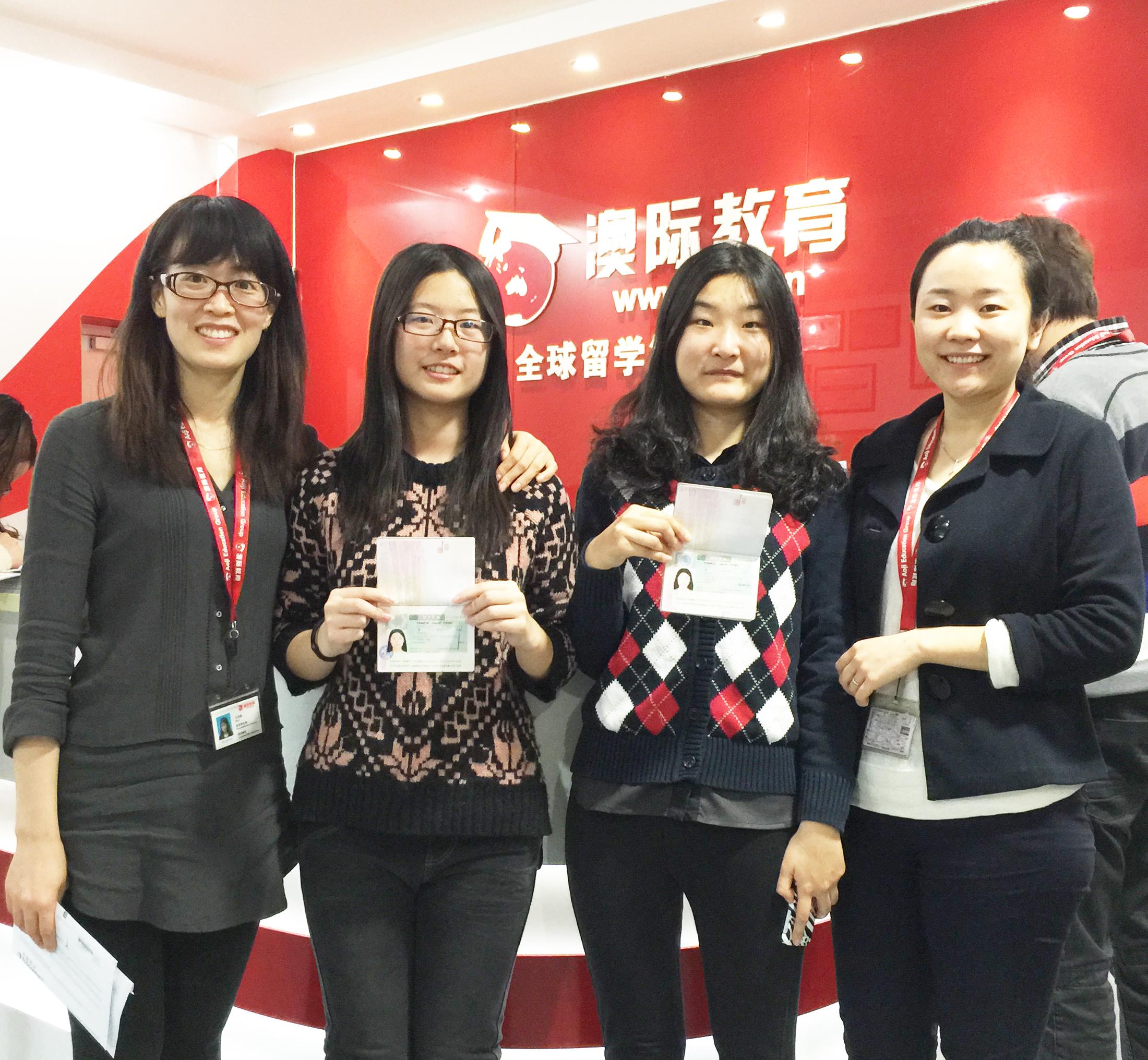 依次为:文案老师王华荣,张媛同学,郑思雨同学,赵希茜老师