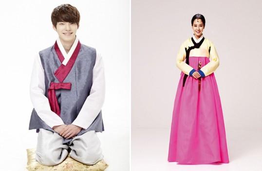 韩国春节服饰