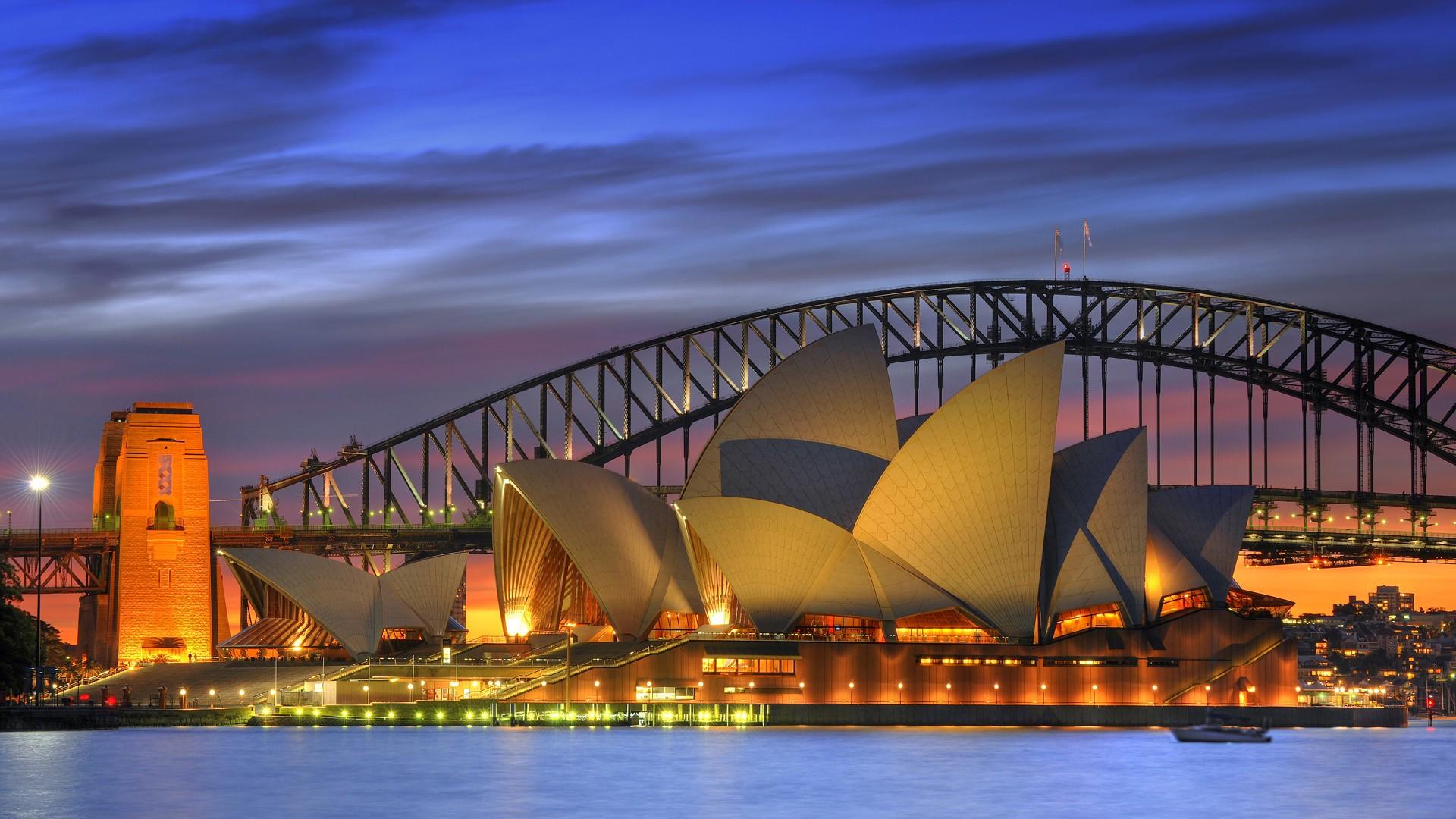 悉尼著名风景1920