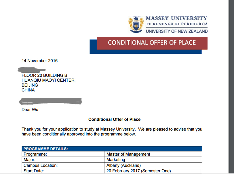 梅西大学offer